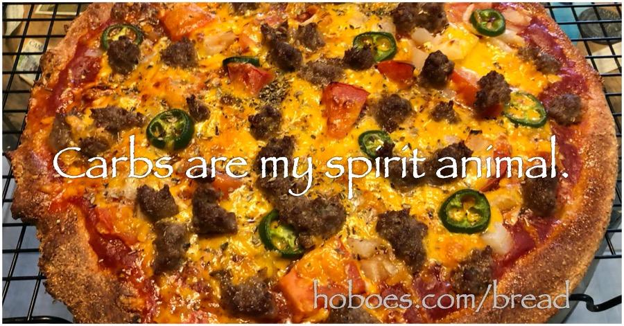 Carbs are my spirit animal