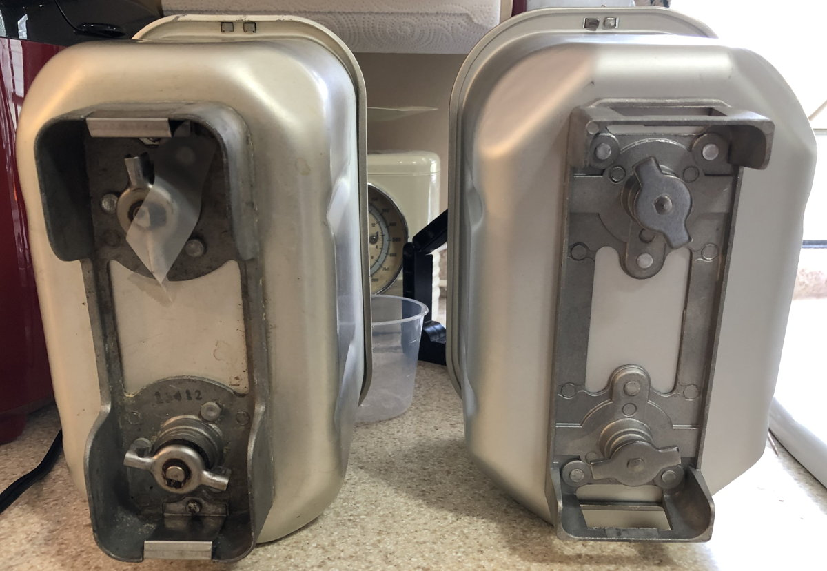 B6000C and Hi-Rise bread pan crossbars