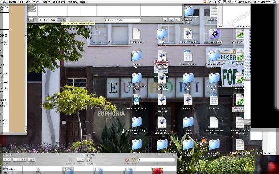Exposing the desktop