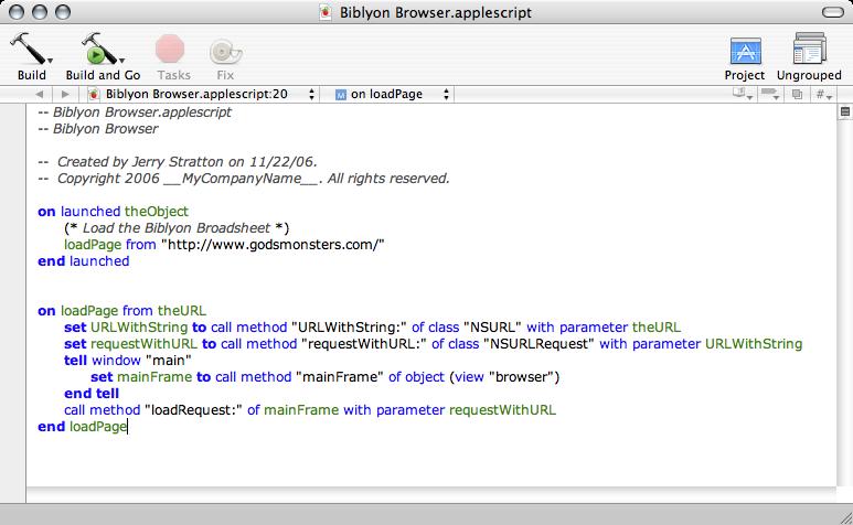 AppleScript Studio Nice Code