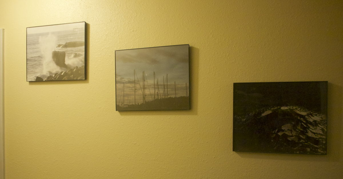 Three hallway posters