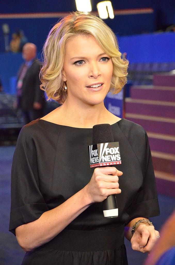 Megyn Kelly reporting