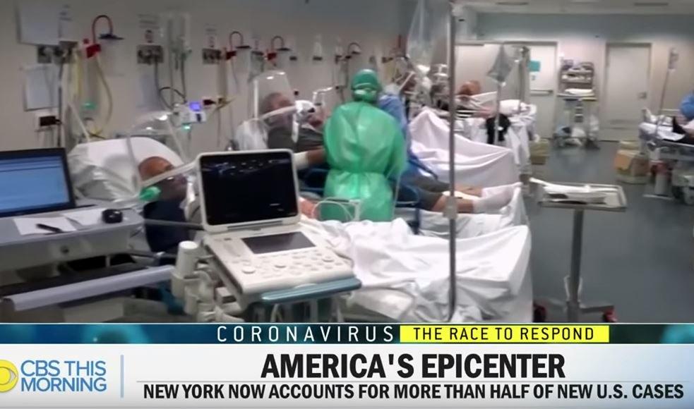 Italian Hospital on CBS News