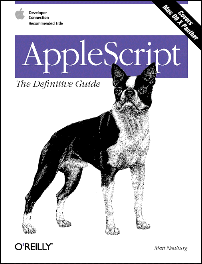 AppleScript Definitive Guide Cover