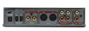 M-Audio Audiophile Back
