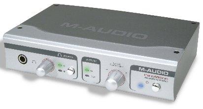 M-Audio Audiophile Front