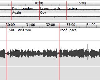 Sound Studio Timeline