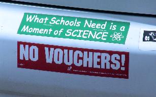 No Vouchers No Science