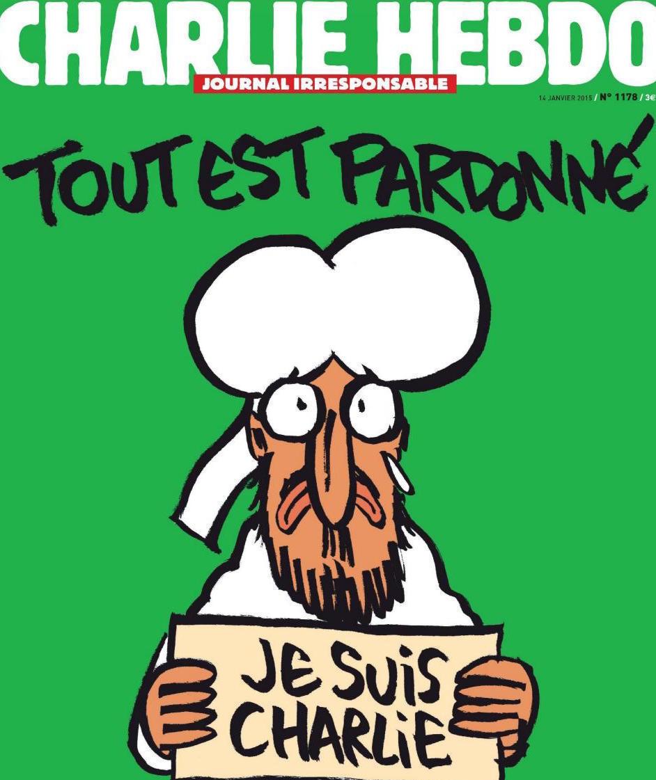 Charlie Hebdo 1178 January 2015