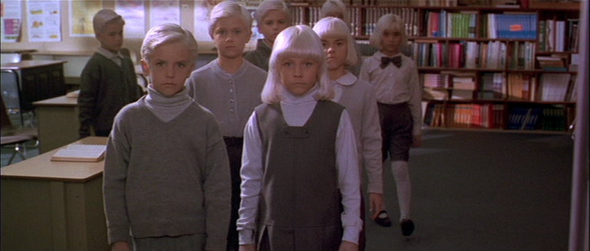 Village of the Damned classroom