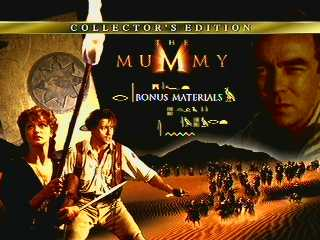 The Mummy (menu)