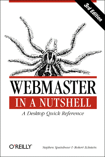 Webmaster in a Nutshell Cover