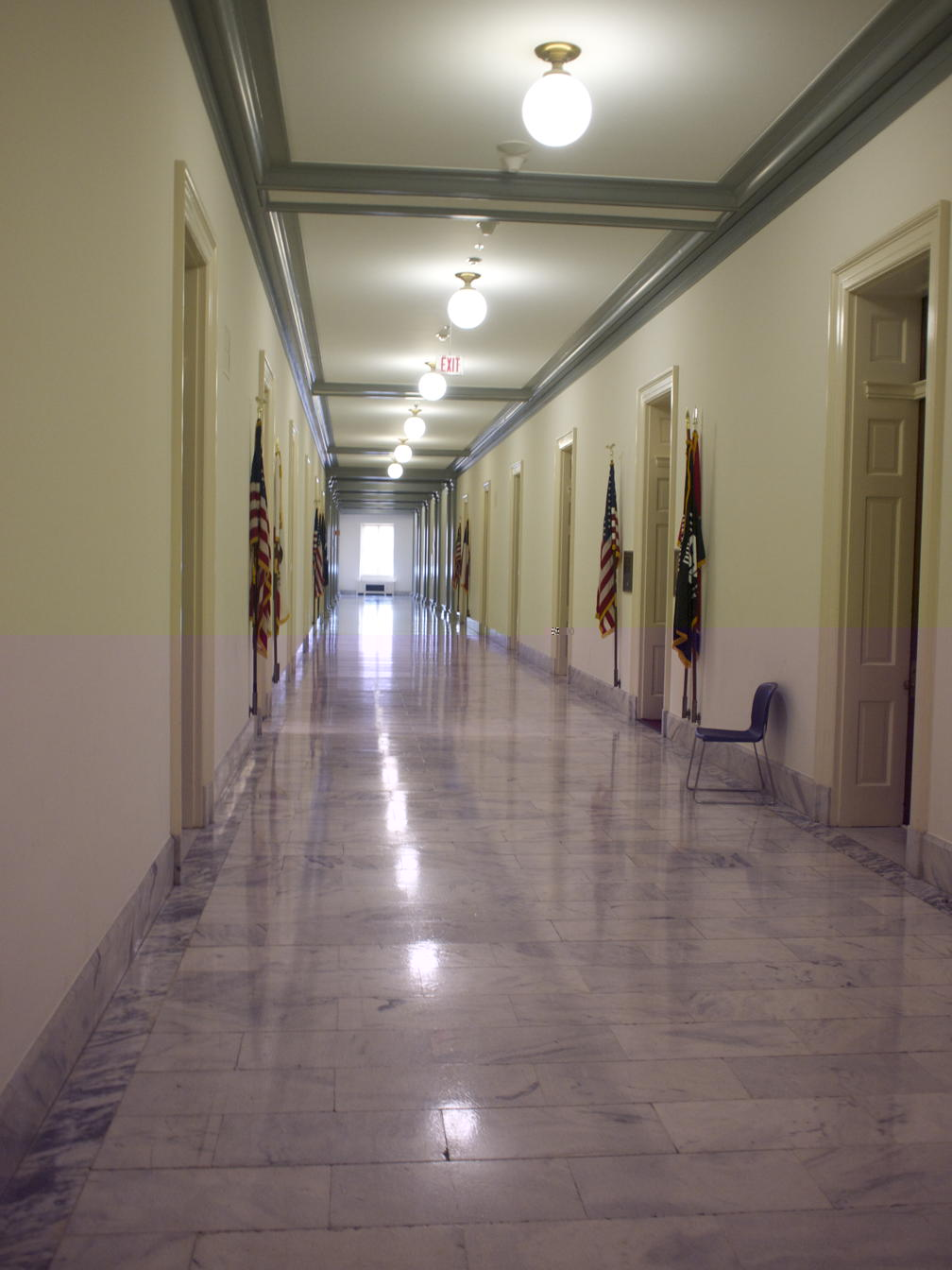 Cannon House Office Building hall