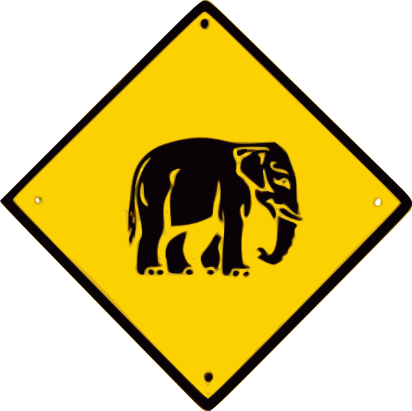 Elephant warning
