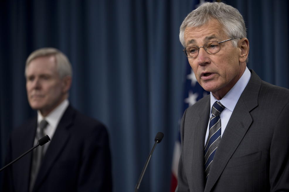 Defense Secretary Chuck Hagel Navy Yard remarks