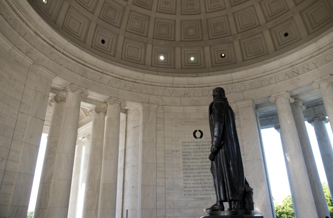 Jefferson's eternal hostility to tyranny
