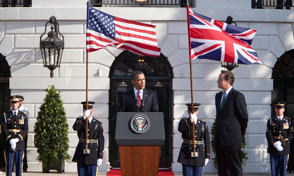 President Obama in Britain
