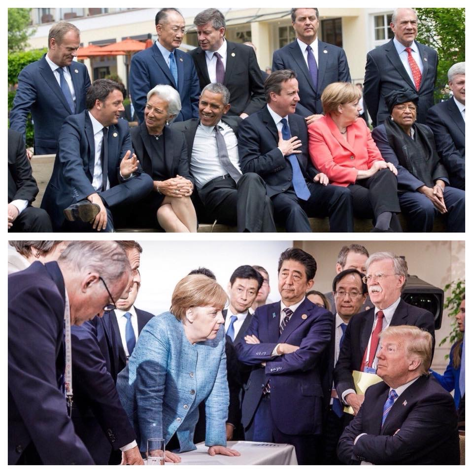 Leadership in two photos