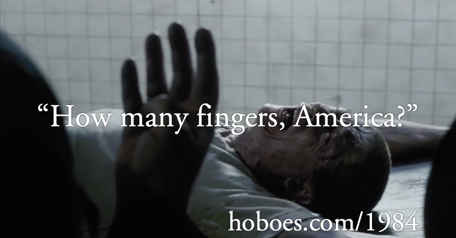 How many fingers (Election 2020)