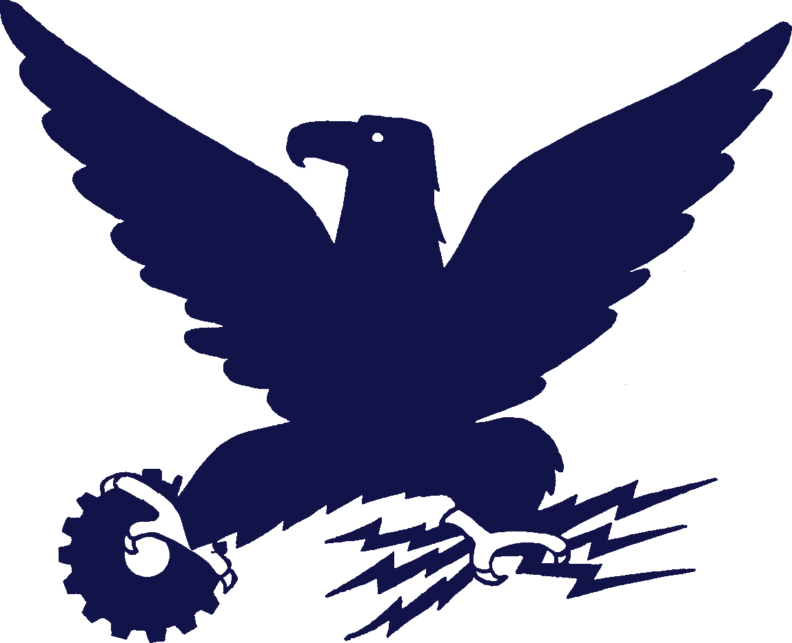 Wordless National Recovery eagle