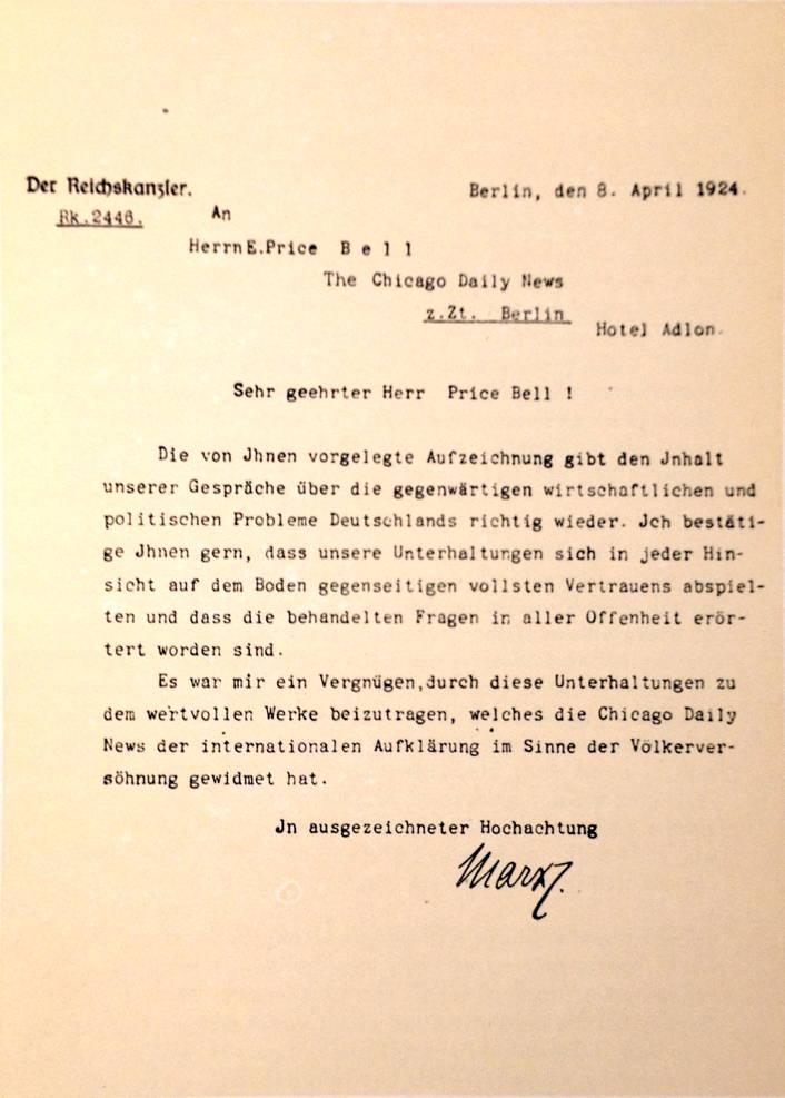 Wilhelm Marx imprimatur