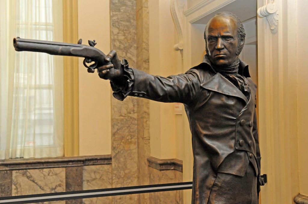 Aaron Burr dueling