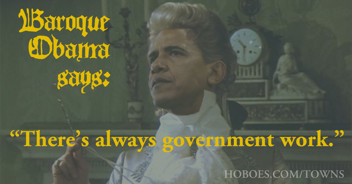 Baroque Obama: Let them eat cities