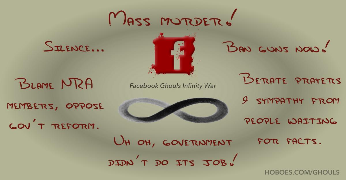 Facebook Ghouls Infinity War