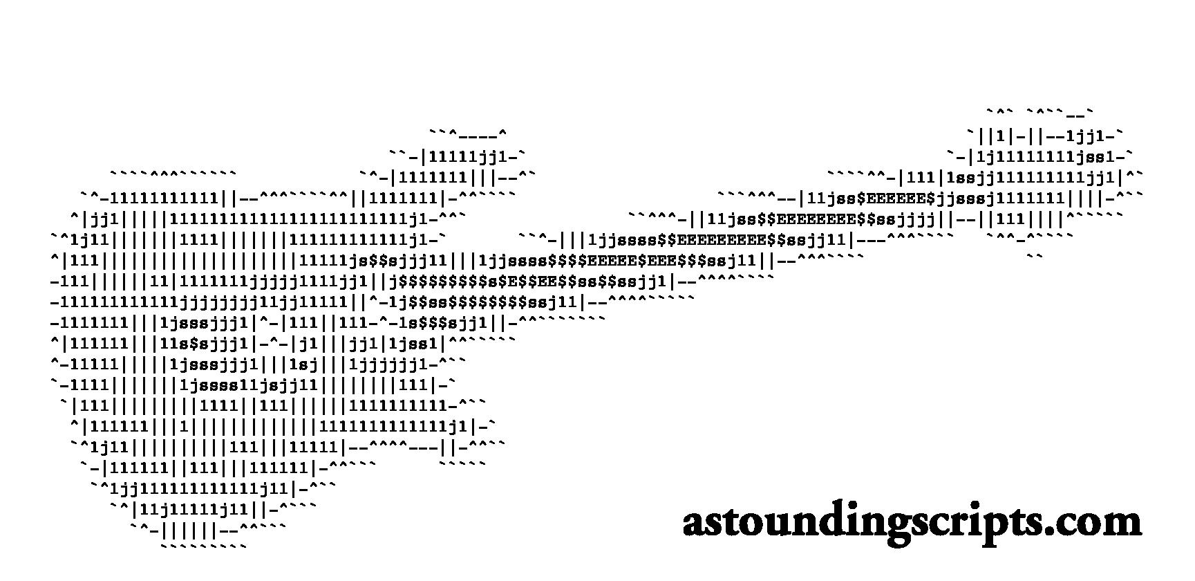 ascii-guitar-courier