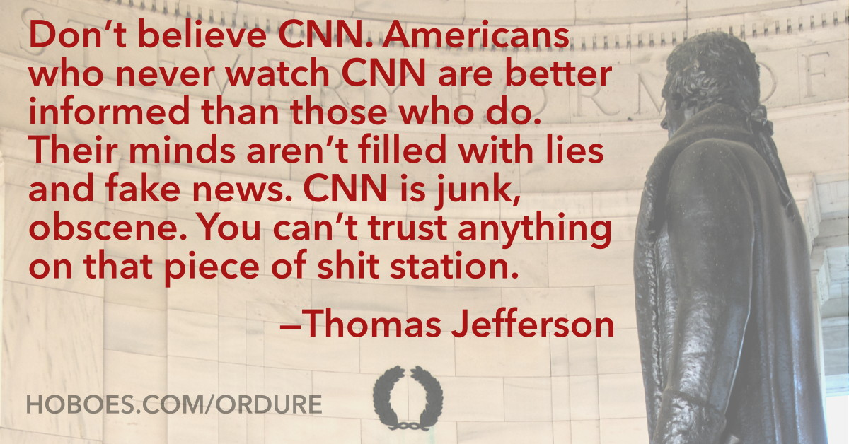 Jefferson on CNN