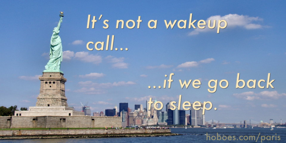 Liberty wakeup call