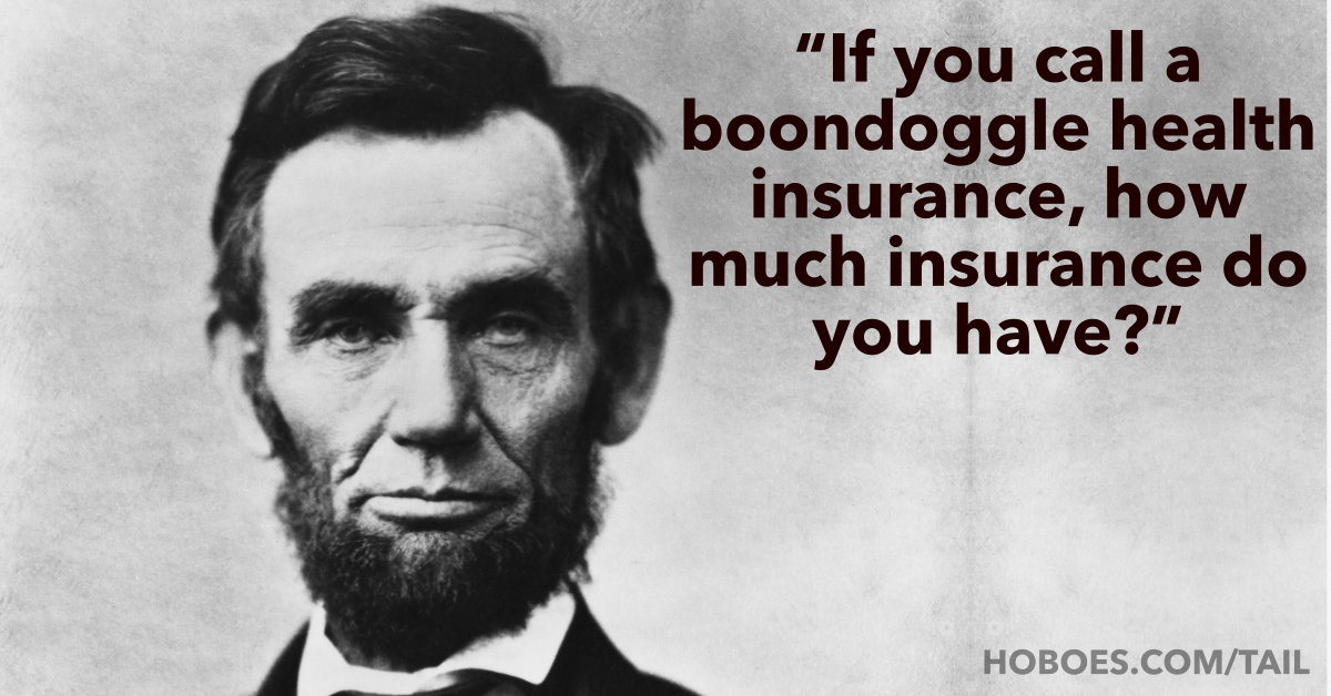 Abraham Lincoln on Obamacare