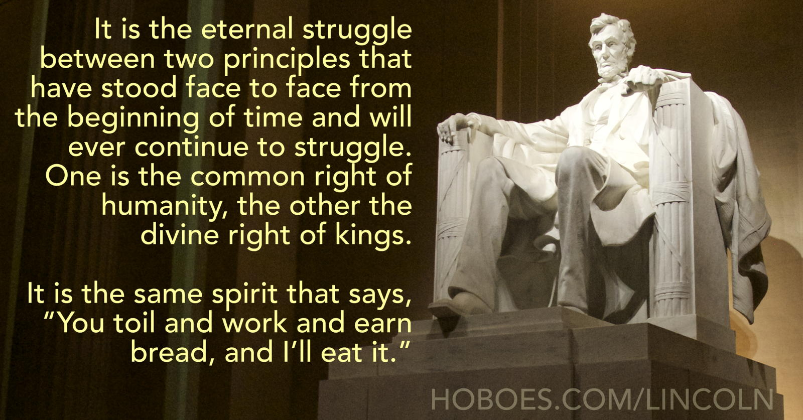 Abraham Lincoln: The Eternal Struggle