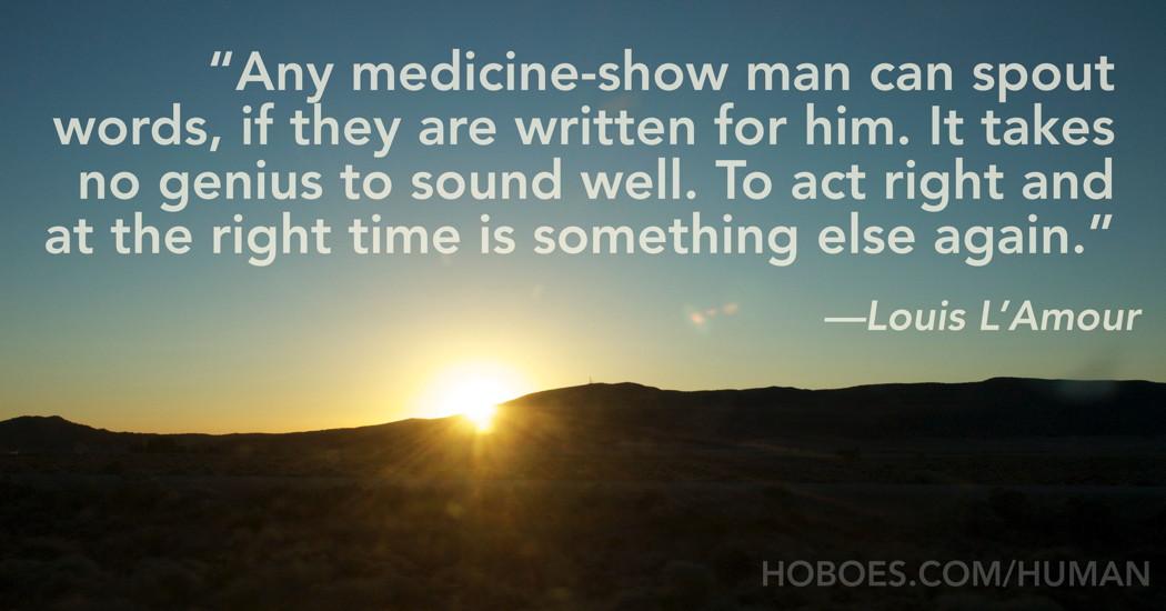 Medicine-Show Man