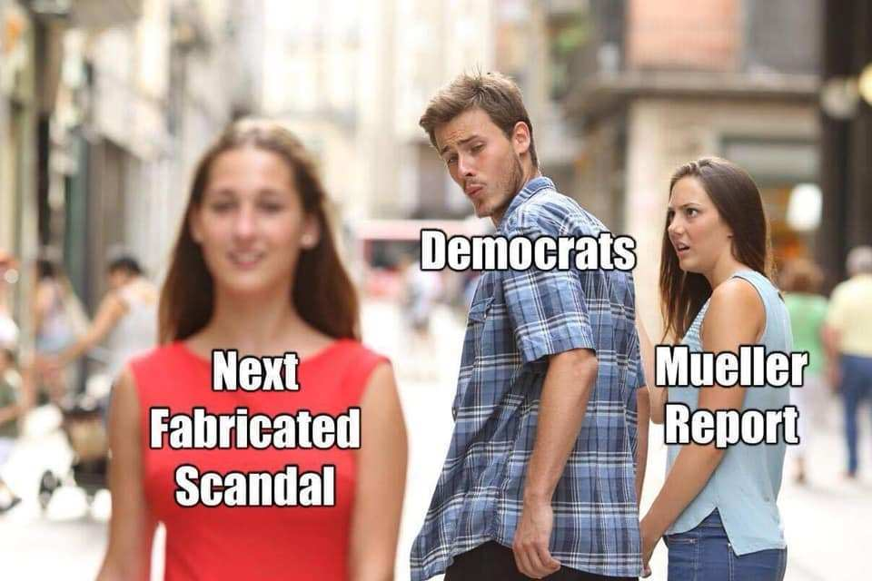 Democrats Move On from Mueller Report