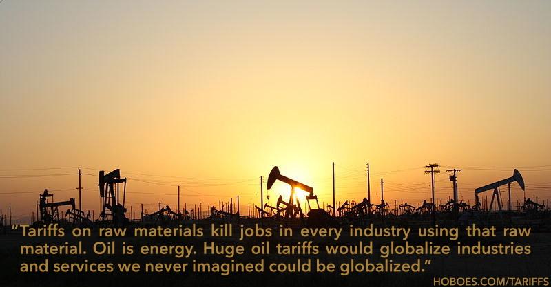 Oil tariffs