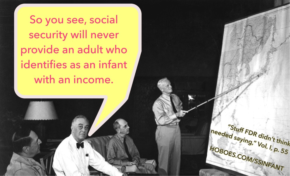FDR social security baby