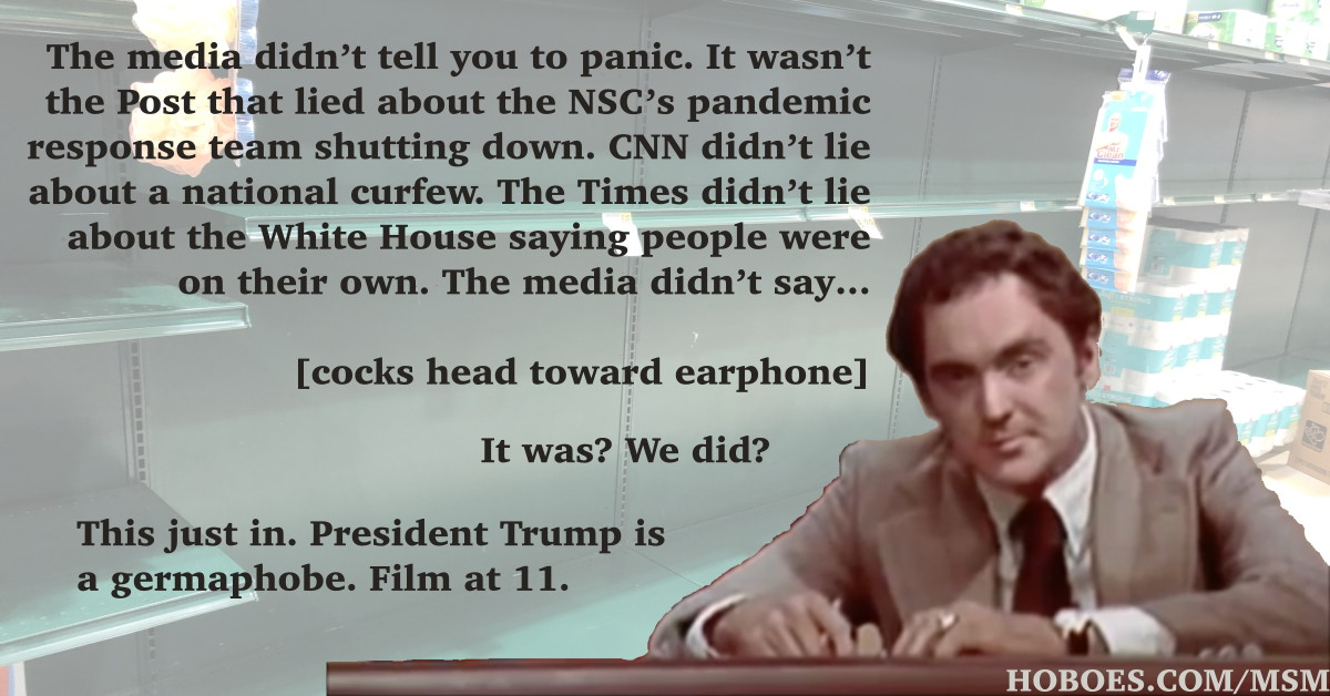 President Trump is a Germaphobe