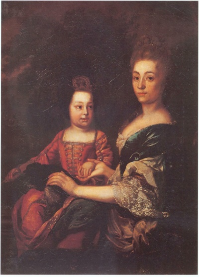 Ivan VI of Russia with nanny