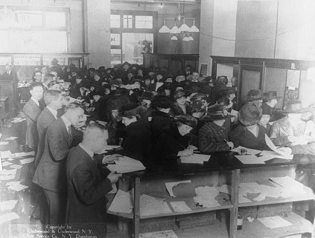 1920 tax filers