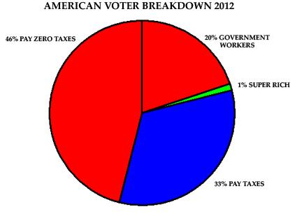 American Voter Breakdown 2012