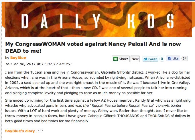 CongressWOMAN dead to me!