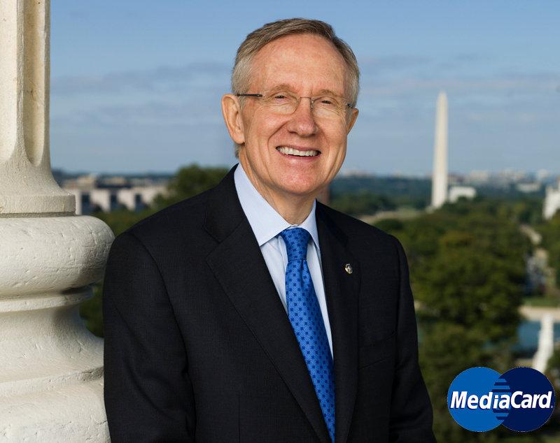 MediaCard Harry Reid