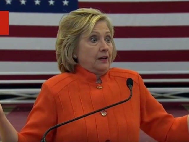 Hillary Clinton at press conference
