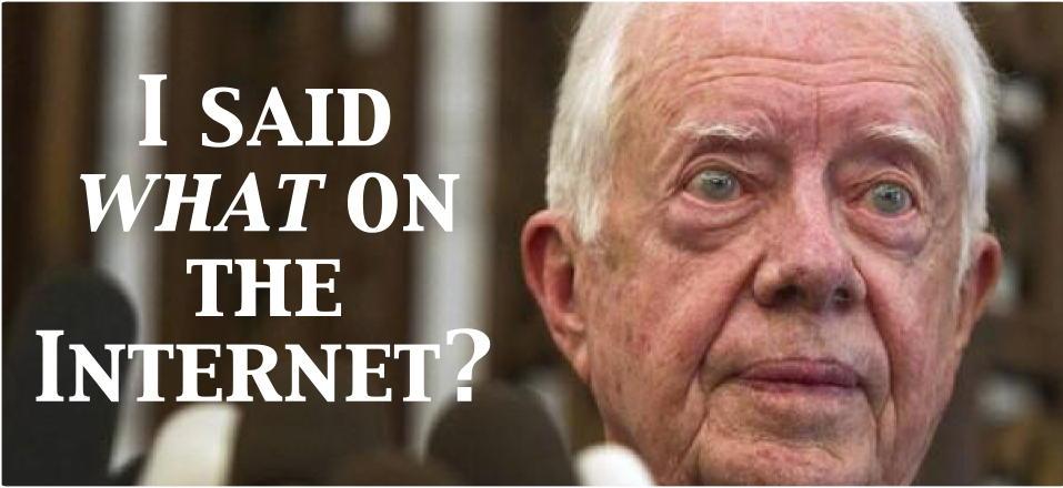 Jimmy Carter surprise