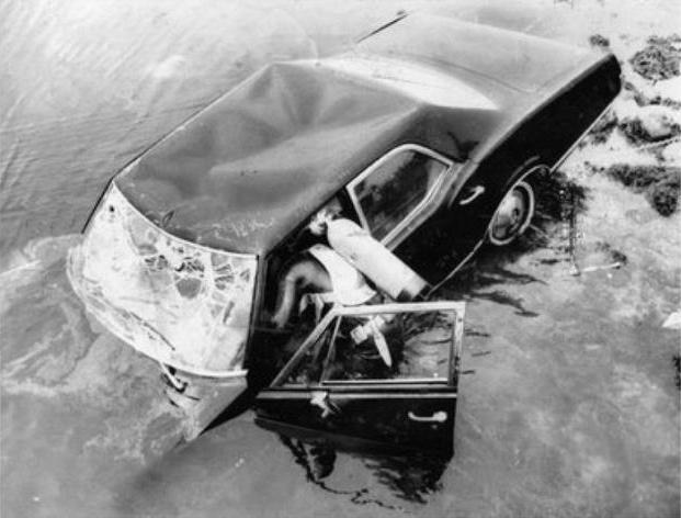 Mary Jo Kopechne's car emerges