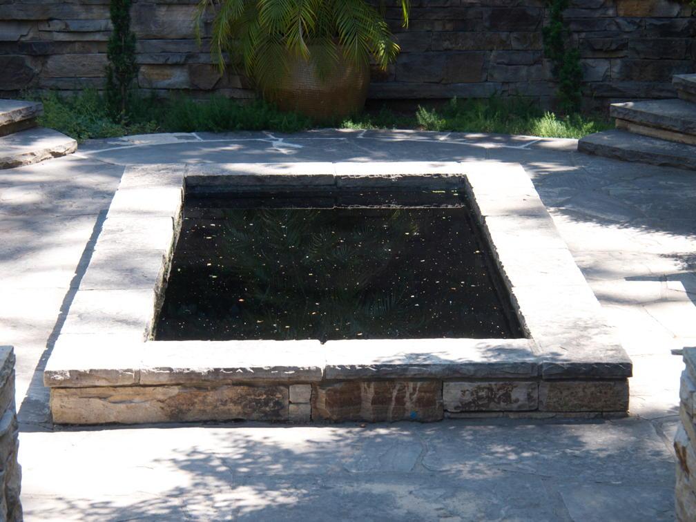 Denver Botanical Gardens reflecting pool