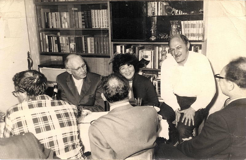 Edward N. Trifonov, refuseniks and Andrei Sakharov