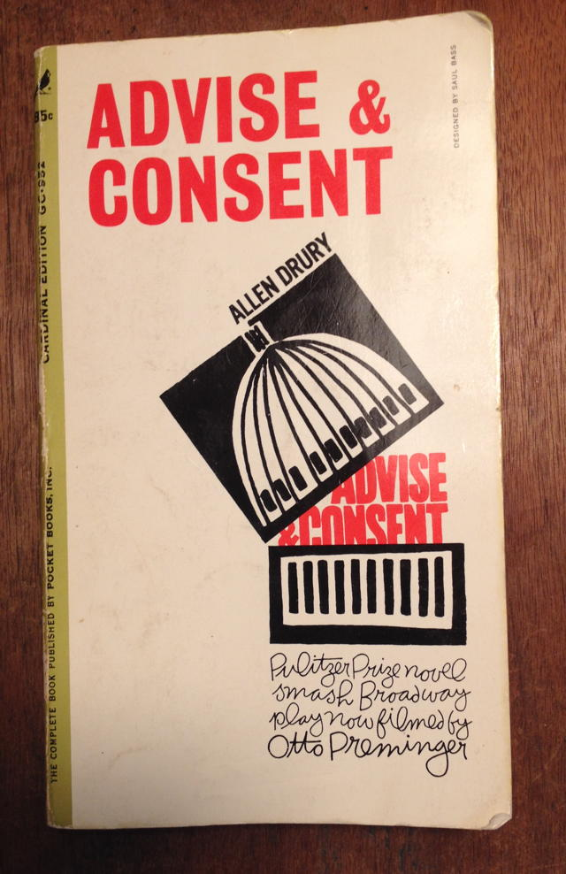 Advise & Consent cover