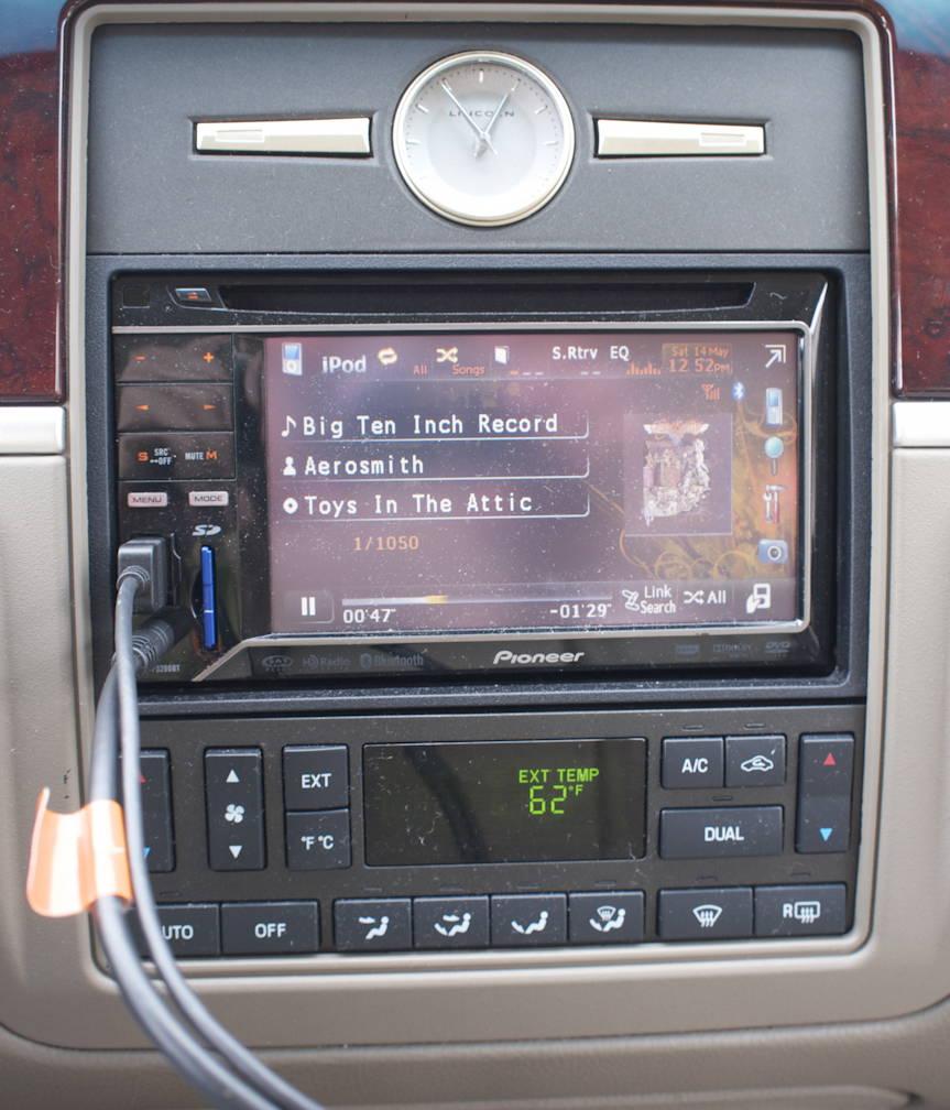 Big Ten Inch on the iPod